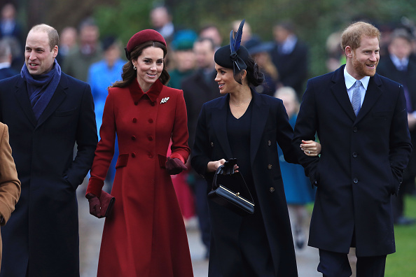 Sussex「The Royal Family Attend Church On Christmas Day」:写真・画像(16)[壁紙.com]