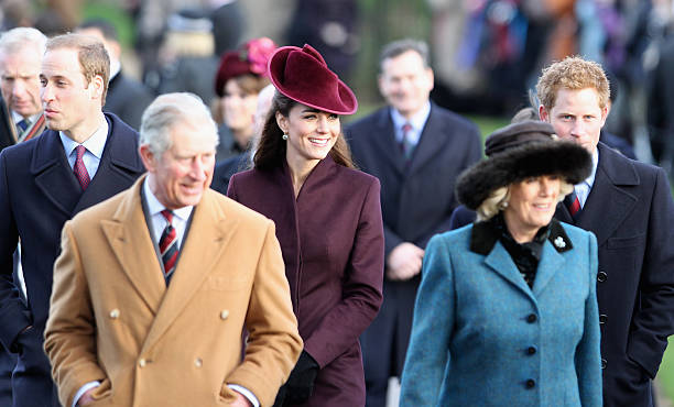 British Royals Attend Christmas Day Service At Sandringham:ニュース(壁紙.com)
