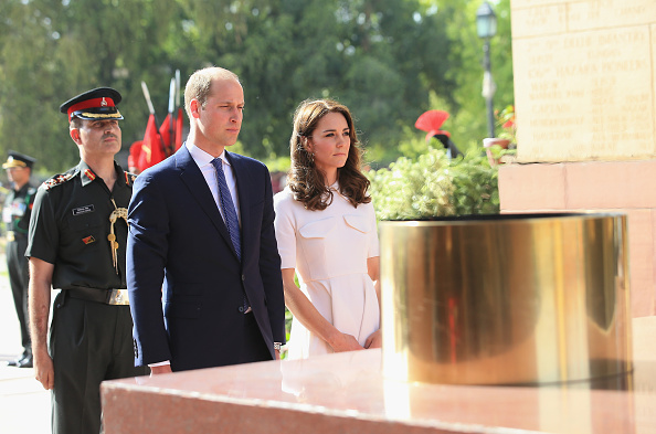 Delhi「The Duke & Duchess Of Cambridge Visit India & Bhutan - Day 2」:写真・画像(15)[壁紙.com]