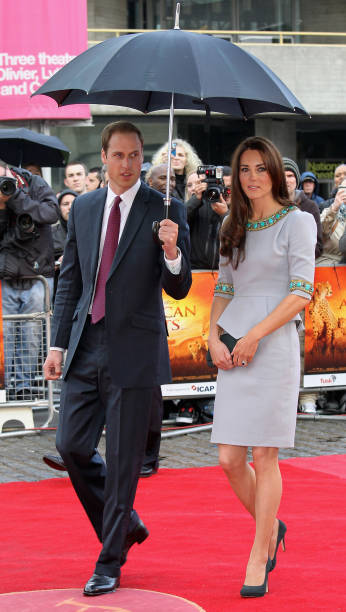 The Duke And Duchess Of Cambridge Attend African Cats - UK Premiere in Aid of Tusk:ニュース(壁紙.com)
