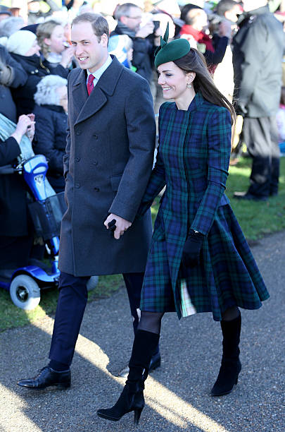 The Royal Family Attend Christmas Day Service At Sandringham:ニュース(壁紙.com)