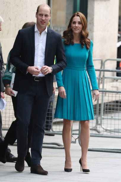 The Duke and Duchess of Cambridge Visit The BBC:ニュース(壁紙.com)