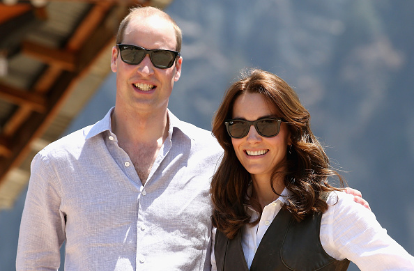 Sunglasses「The Duke and Duchess Of Cambridge Visit India and Bhutan - Day 6」:写真・画像(6)[壁紙.com]