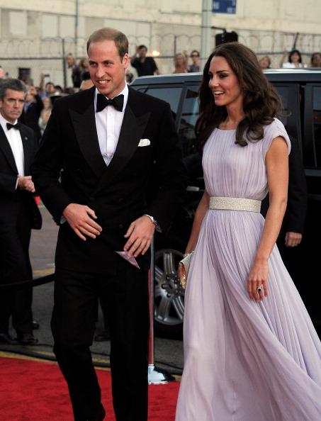 Alexander McQueen - Designer Label「The Duke and Duchess of Cambridge Attend BAFTA Brits To Watch Event」:写真・画像(19)[壁紙.com]