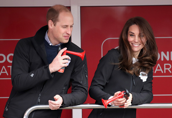 Humor「The Duke & Duchess Of Cambridge And Prince Harry Attend The Virgin Money London Marathon」:写真・画像(19)[壁紙.com]