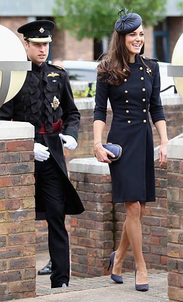 The Duke And Duchess Of Cambridge Attend The Irish Guards Medal Parade:ニュース(壁紙.com)