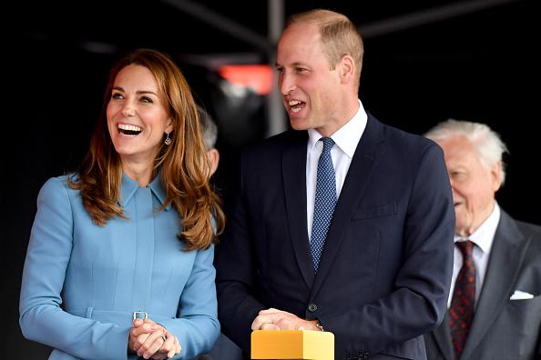 Birkenhead「The Duke & Duchess Of Cambridge Attend The Naming Ceremony For The RSS Sir David Attenborough」:写真・画像(17)[壁紙.com]