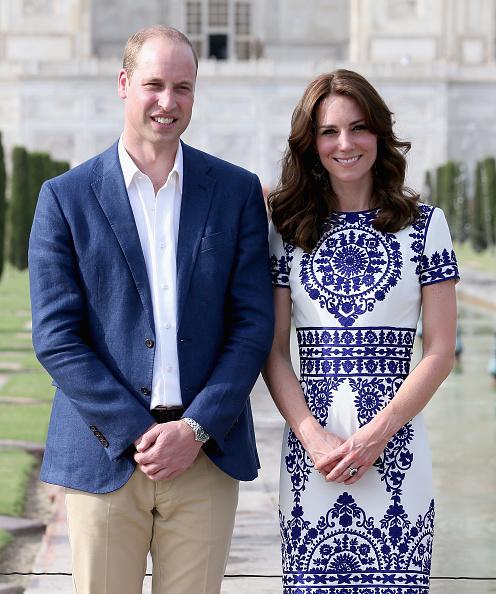 カメラ目線「The Duke and Duchess Of Cambridge Visit India and Bhutan - Day 7」:写真・画像(18)[壁紙.com]