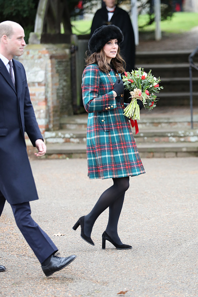 Attending「Members Of The Royal Family Attend St Mary Magdalene Church In Sandringham」:写真・画像(18)[壁紙.com]