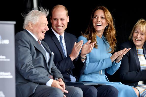 Birkenhead「The Duke & Duchess Of Cambridge Attend The Naming Ceremony For The RSS Sir David Attenborough」:写真・画像(18)[壁紙.com]