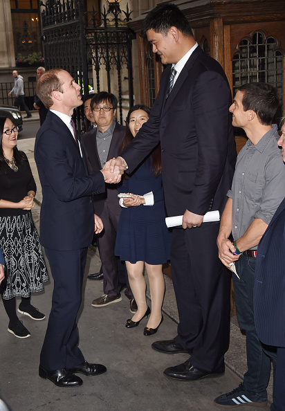 Yao Ming「The Duke Of Cambridge Delivers Speech On The Illegal Wildlife Trade For Chinese Television」:写真・画像(6)[壁紙.com]