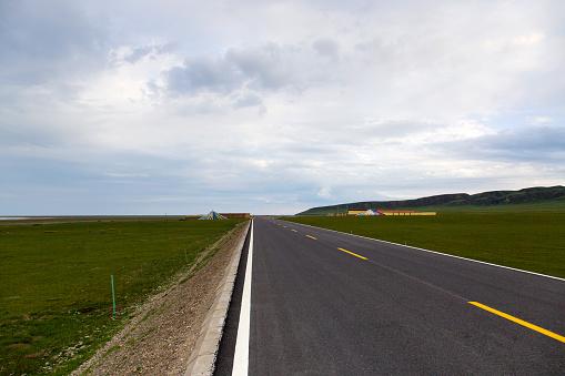 Eco Tourism「Road in Qinghai province, China」:スマホ壁紙(7)