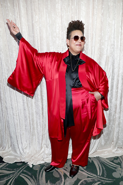 Satin Pants「2020 13th Annual Essence Black Women In Hollywood Awards Luncheon -  Sponsors」:写真・画像(12)[壁紙.com]