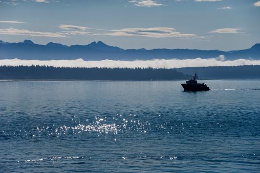 Glacier Bay National Park「Boat in Glacier bay national park」:スマホ壁紙(19)