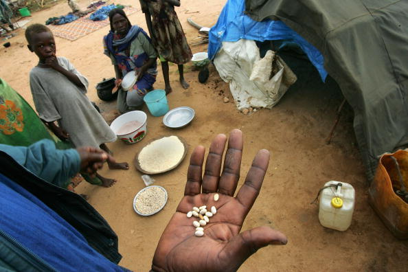 Hand「Dafur Refugees Overwhelm Camps In Chad」:写真・画像(8)[壁紙.com]