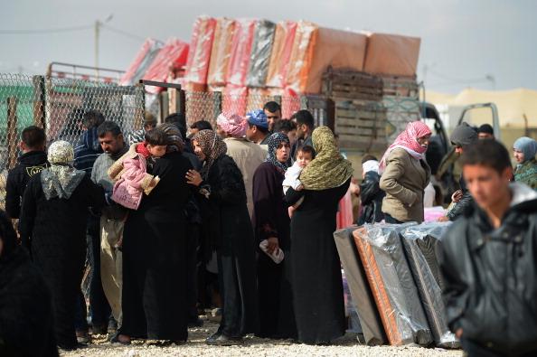 Jordan - Middle East「Thousands Of Syrian Refugees Seek Shelter In Makeshift Camps In Jordan」:写真・画像(8)[壁紙.com]
