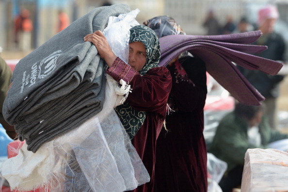 UNHCR「Thousands Of Syrian Refugees Seek Shelter In Makeshift Camps In Jordan」:写真・画像(3)[壁紙.com]