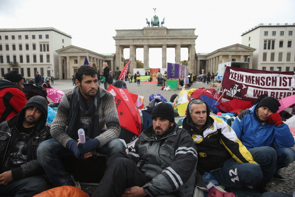 Germany「Refugees Continue Hunger Strike, Refuse Water」:写真・画像(13)[壁紙.com]