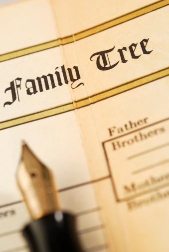 Family Tree「Family tree record in a family bible」:スマホ壁紙(7)