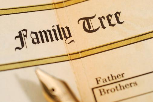 Family Tree「Family tree record in a family bible」:スマホ壁紙(5)