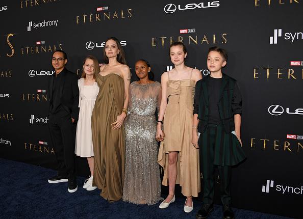 "Angelina Jolie「Marvel's ""Eternals"" World Premiere Images Provided By Lexus」:写真・画像(16)[壁紙.com]"