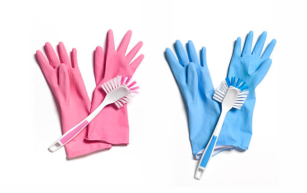 'His and hers' washing up gloves:スマホ壁紙(壁紙.com)