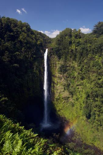 Akaka Falls「USA, Hawaii, Big Island, Hamakua Coast, Akaka Falls State Park, Akaka Falls」:スマホ壁紙(18)