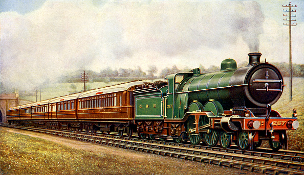 絵「Leeds and Bradford Luncheon Car Express (London and North Eastern Railway)」:写真・画像(14)[壁紙.com]