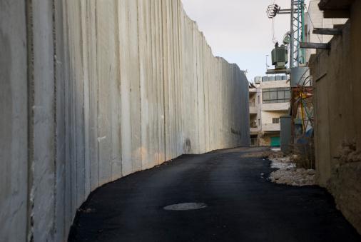 Bethlehem - West Bank「Israeli separation barrier running through Palestinian town of Bethlehem」:スマホ壁紙(11)
