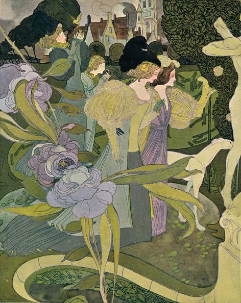 Smelling「Les Jardins D'Armide, c1888-1898, (1898). Artist: Georges Joseph van Sluijters」:写真・画像(17)[壁紙.com]