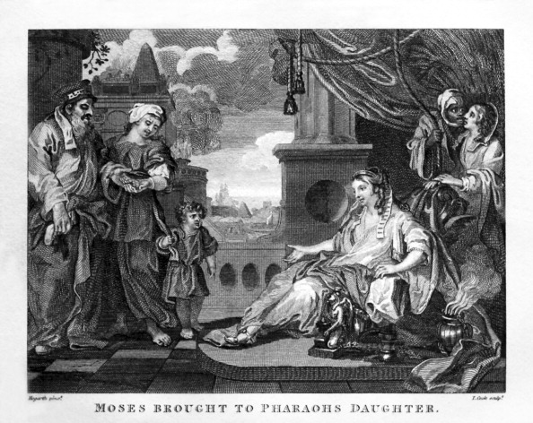 City Life「Moses Brought to Pharaoh's Daughter by William Hogarth」:写真・画像(6)[壁紙.com]