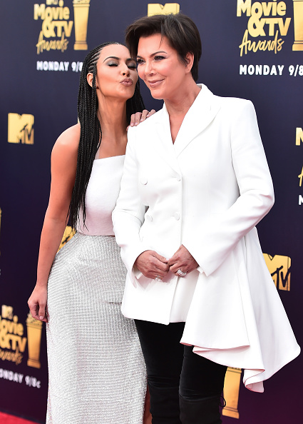 Kim Kardashian「2018 MTV Movie And TV Awards - Arrivals」:写真・画像(15)[壁紙.com]