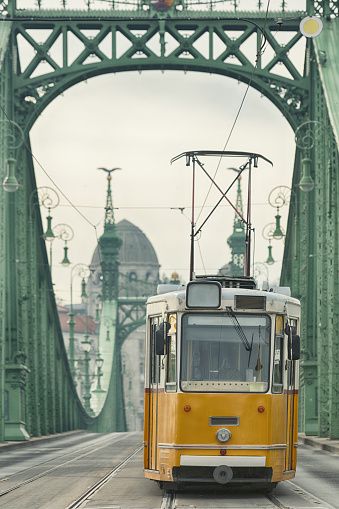 Durability「Vintage Cable Car on Liberty Bridge」:スマホ壁紙(16)