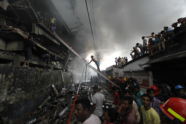Garment「24 Killed In Tongi Factory Boiler Blast In Bangladesh」:写真・画像(12)[壁紙.com]