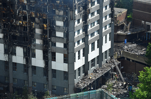 Protection「24-Storey Grenfell Tower Block On Fire In West London」:写真・画像(6)[壁紙.com]