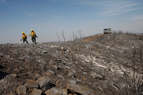 Burnt「Early Southern California Wildfires Threaten Area」:写真・画像(6)[壁紙.com]