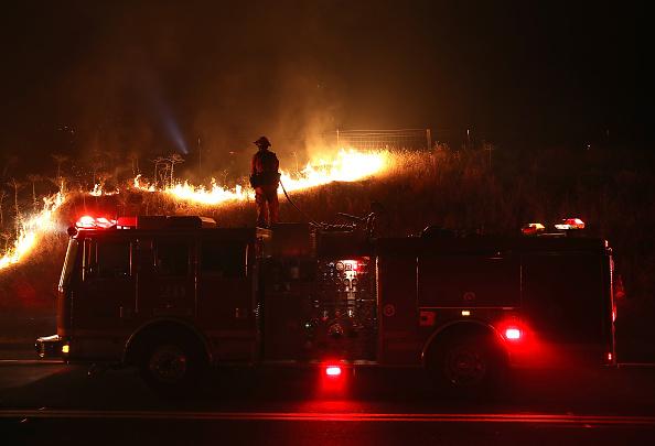 Justin Sullivan「Detwiler Fire Spreading Rapidly Threatens Historic Town Mariposa」:写真・画像(9)[壁紙.com]