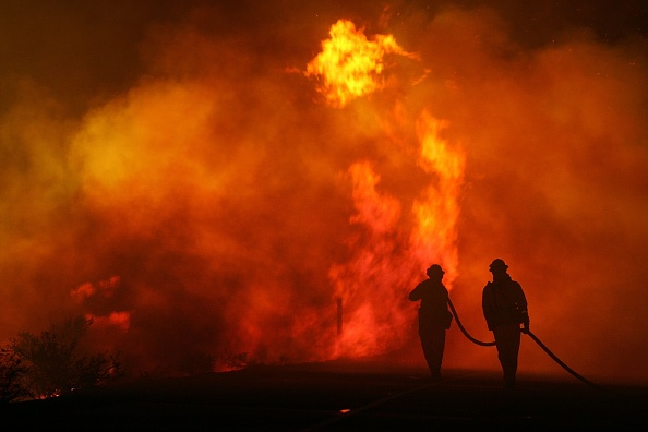 Palm Springs - California「Deadly Wildfire Rages In Desert Near Palm Springs」:写真・画像(7)[壁紙.com]
