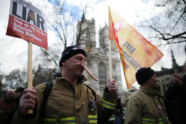 Methodist「Striking Firefighters Rally in London」:写真・画像(1)[壁紙.com]
