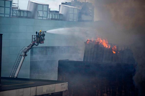 Glasgow - Scotland「Fire At Glasgow School of Art Charles Rennie Mackintosh Building」:写真・画像(15)[壁紙.com]