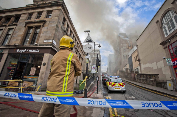 Glasgow - Scotland「Fire At Glasgow School of Art Charles Rennie Mackintosh Building」:写真・画像(14)[壁紙.com]