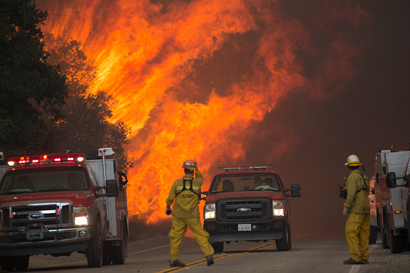 カリフォルニア州「Southern California Sand Fire Grows To 20,000 Acres」:写真・画像(19)[壁紙.com]