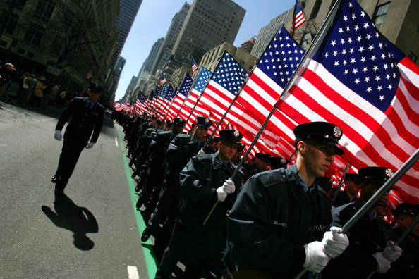 Celebration Event「New York Holds Annual St. Patricks Day Parade」:写真・画像(18)[壁紙.com]