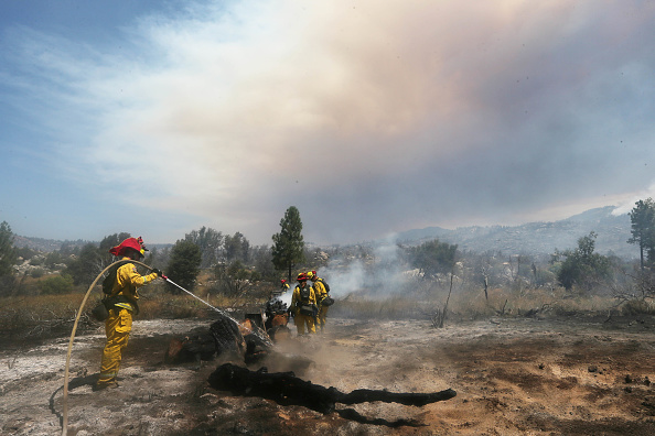 San Bernardino National Forest「Rapidly Spreading Cranston Fire Scorches Over 4000 Acres In Southern California」:写真・画像(18)[壁紙.com]