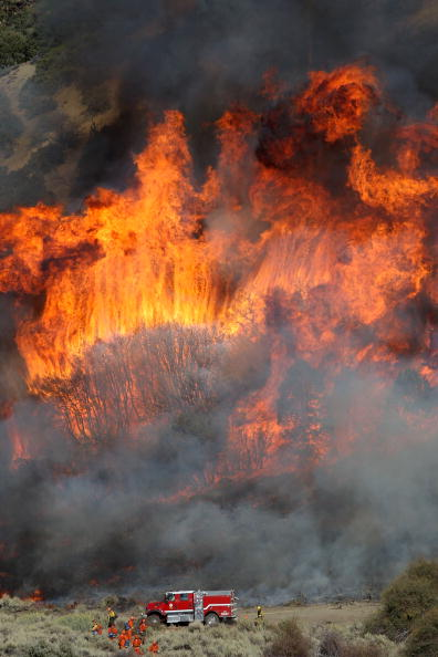 San Bernardino National Forest「Southern California Wildfire Burns Over 3500 Acres Of San Gabriel Mtns」:写真・画像(13)[壁紙.com]