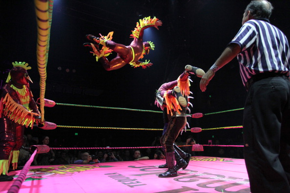 Concepts「Mexican Masked Wrestling Event Takes On Halloween Theme」:写真・画像(2)[壁紙.com]