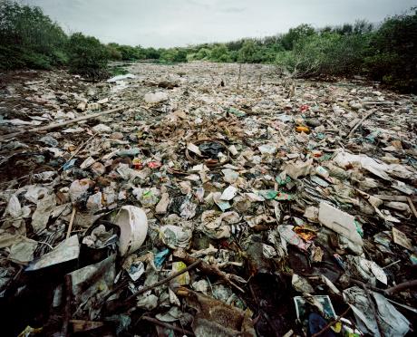Deterioration「River of rubbish, Bali」:スマホ壁紙(4)