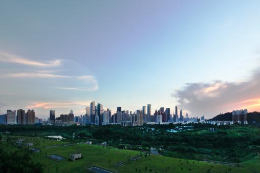 Panoramic「Shenzhen,China」:スマホ壁紙(5)