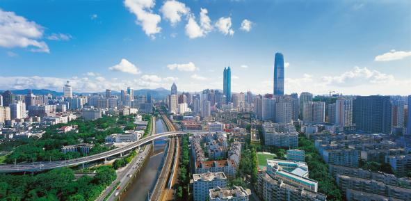 City Life「Shenzhen,China」:スマホ壁紙(2)