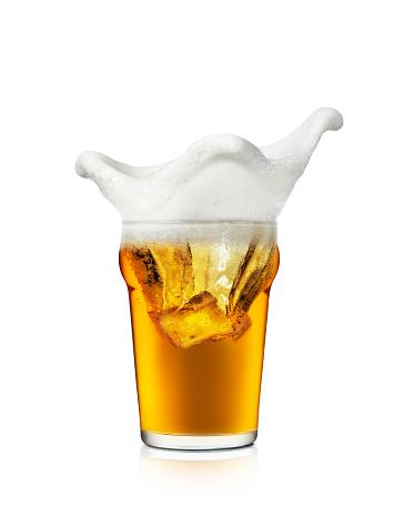 かえる「ビール「スプラッシュ」」:スマホ壁紙(9)
